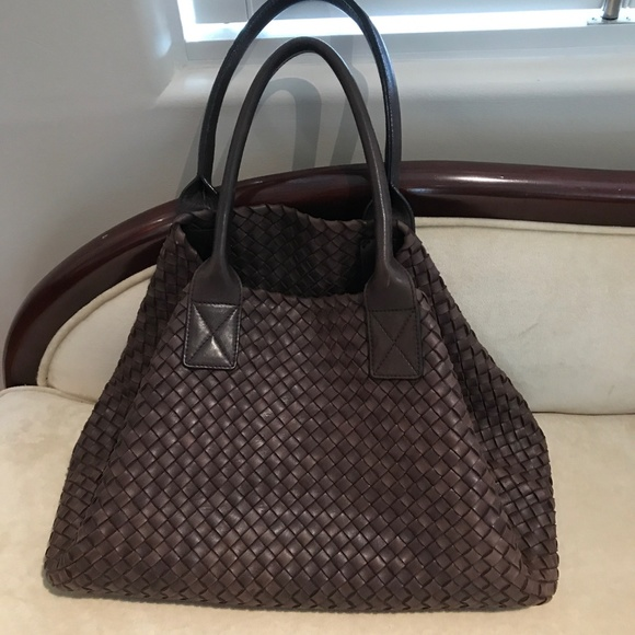 e1298dfbf9ed Bottega Veneta Bags | Authentic Tote Bag Brown Leather | Poshmark